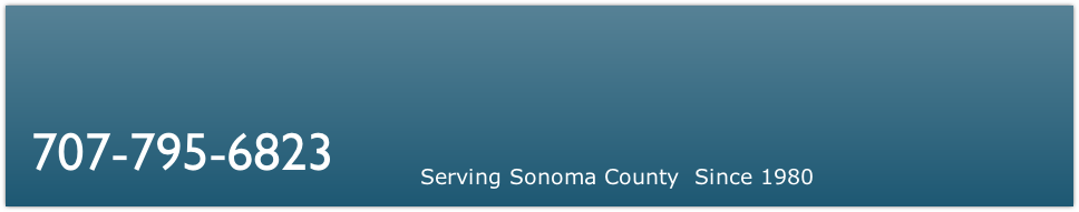 Serving Sonoma County  Since 1980